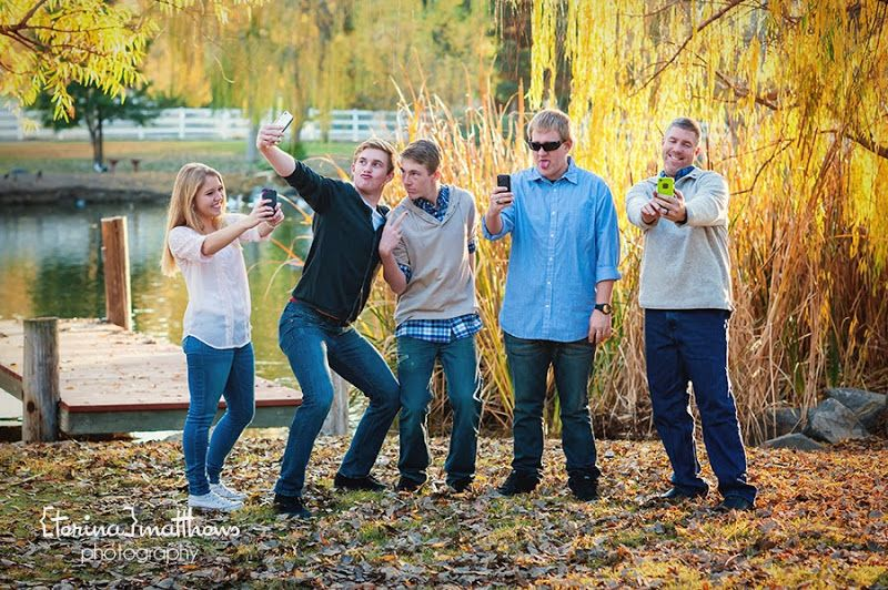 Terina Matthews Photography Fun Family Pose Selfies