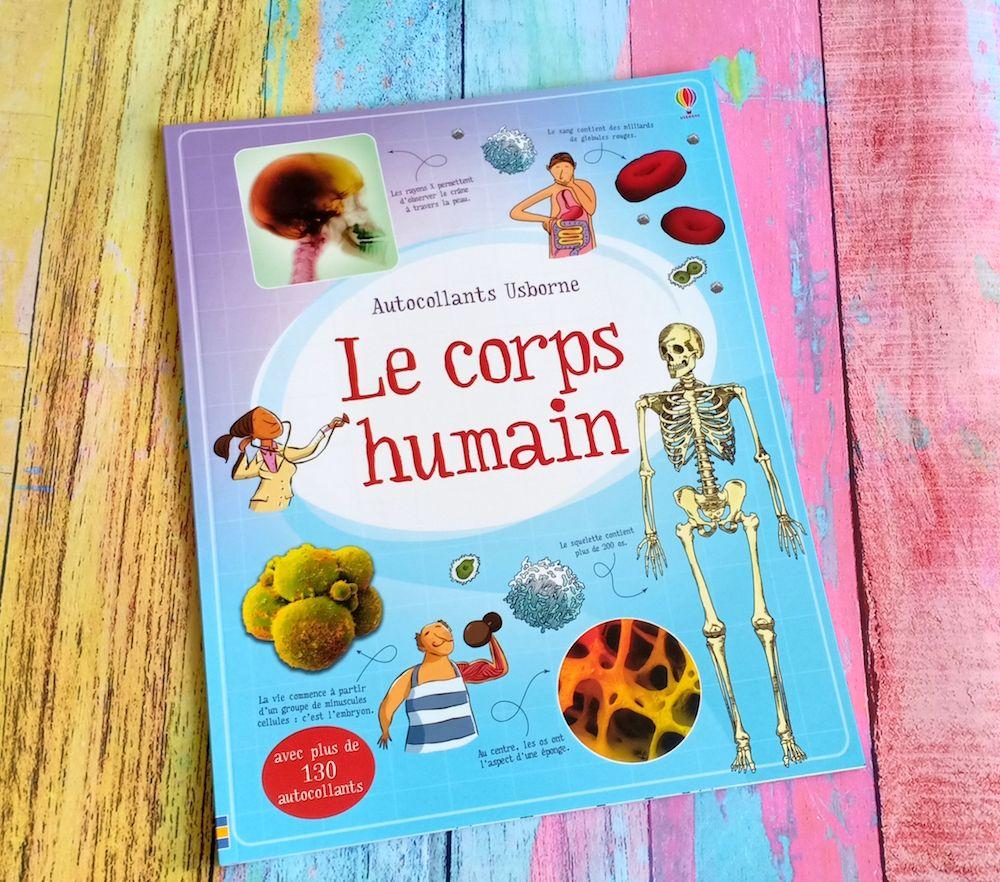 Le Corps Humain Corps Humain Livre Enfant Corps