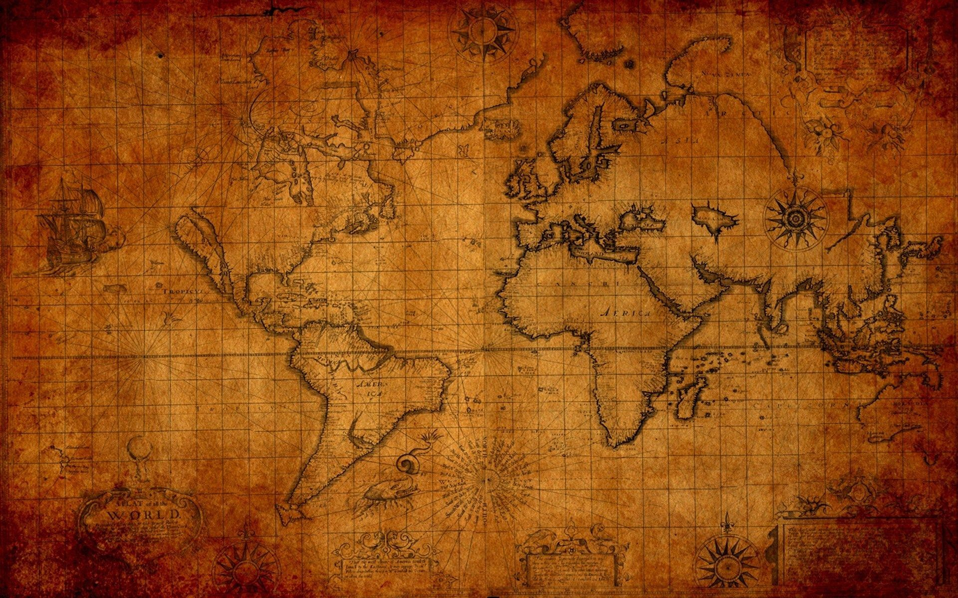 Antique map wallpaper for desktop ololoshenka pinterest antique map wallpaper for desktop gumiabroncs Choice Image