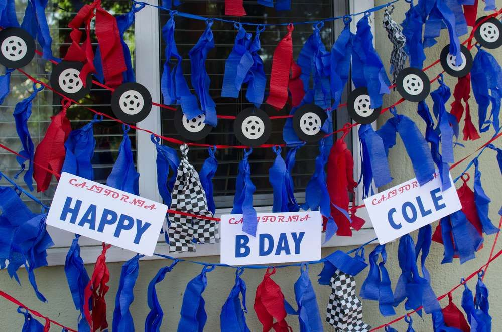 Cars Lightning McQueen Birthday Party Ideas Lightning mcqueen