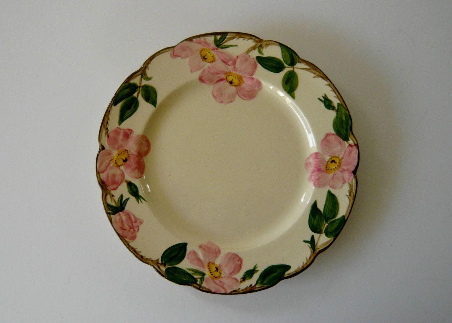 Franciscan Desert Rose Bread Plate Or Dessert Plate Six Inch Diameter With Images Franciscan Desert Rose Plates Dinnerware Patterns