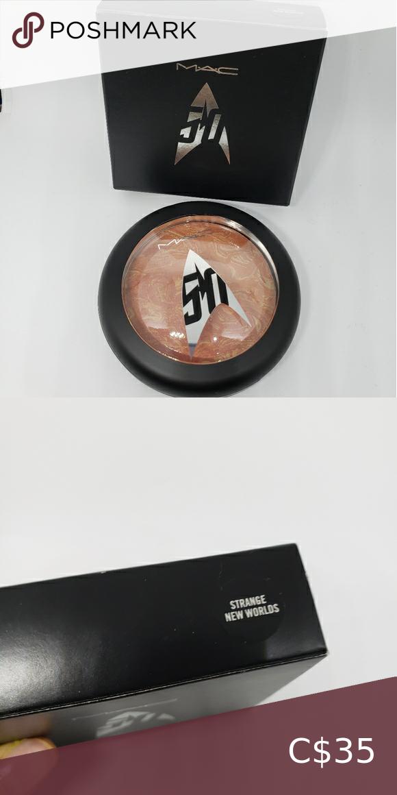 MAC Cosmetics Star Trek Limited Edition Highlighte NWT in