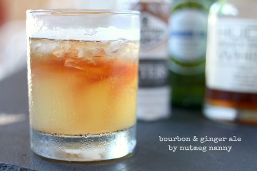 Bourbon and Ginger Ale - #drinks #beverage #recipe #recipes #drinkrecipe #MyBSisBoss