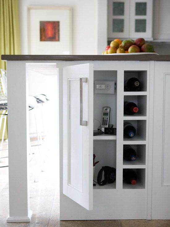 kitchen island storage ideas and tips - Kitchen Island Outlet Ideas