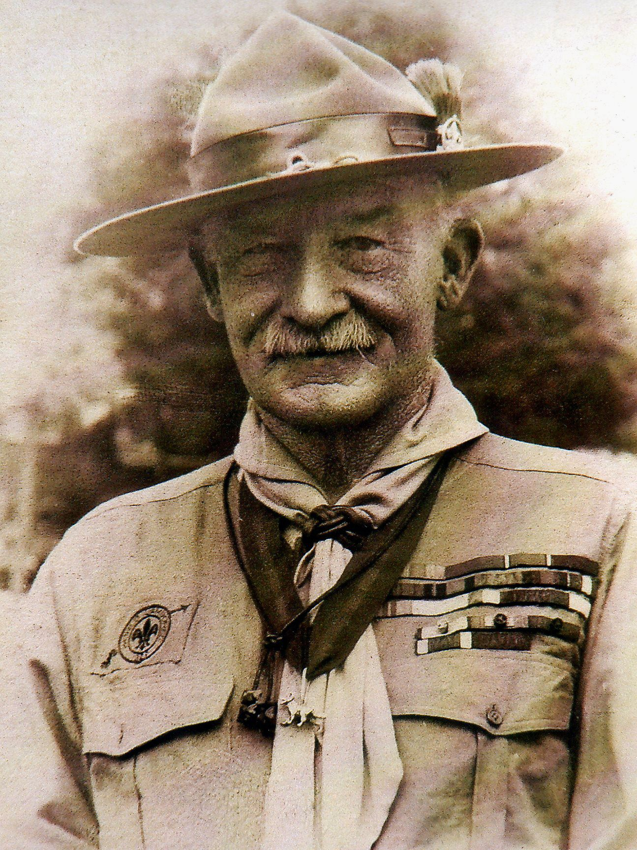 Lord Baden Powell Was Left Handed Boy Scout Troop Baden