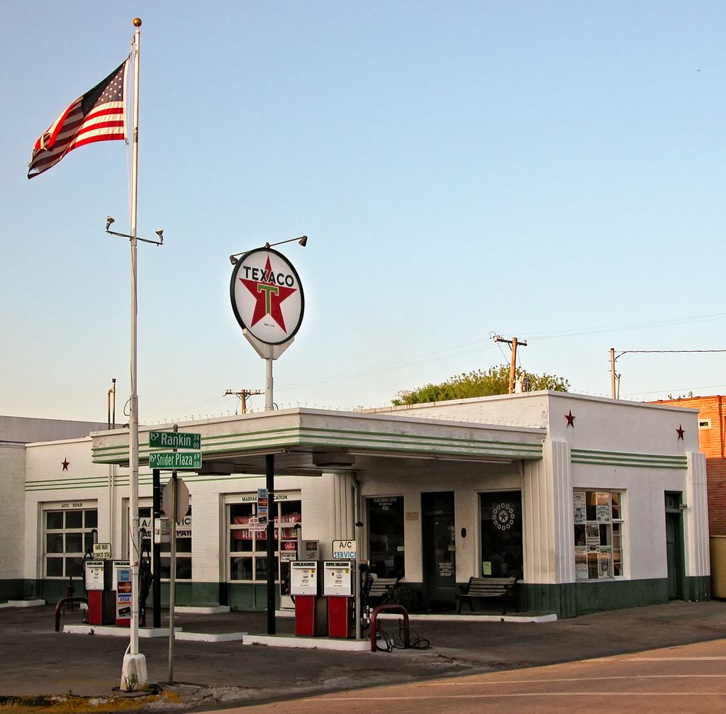 Old Gas Stations, Filling Station, Gas Station