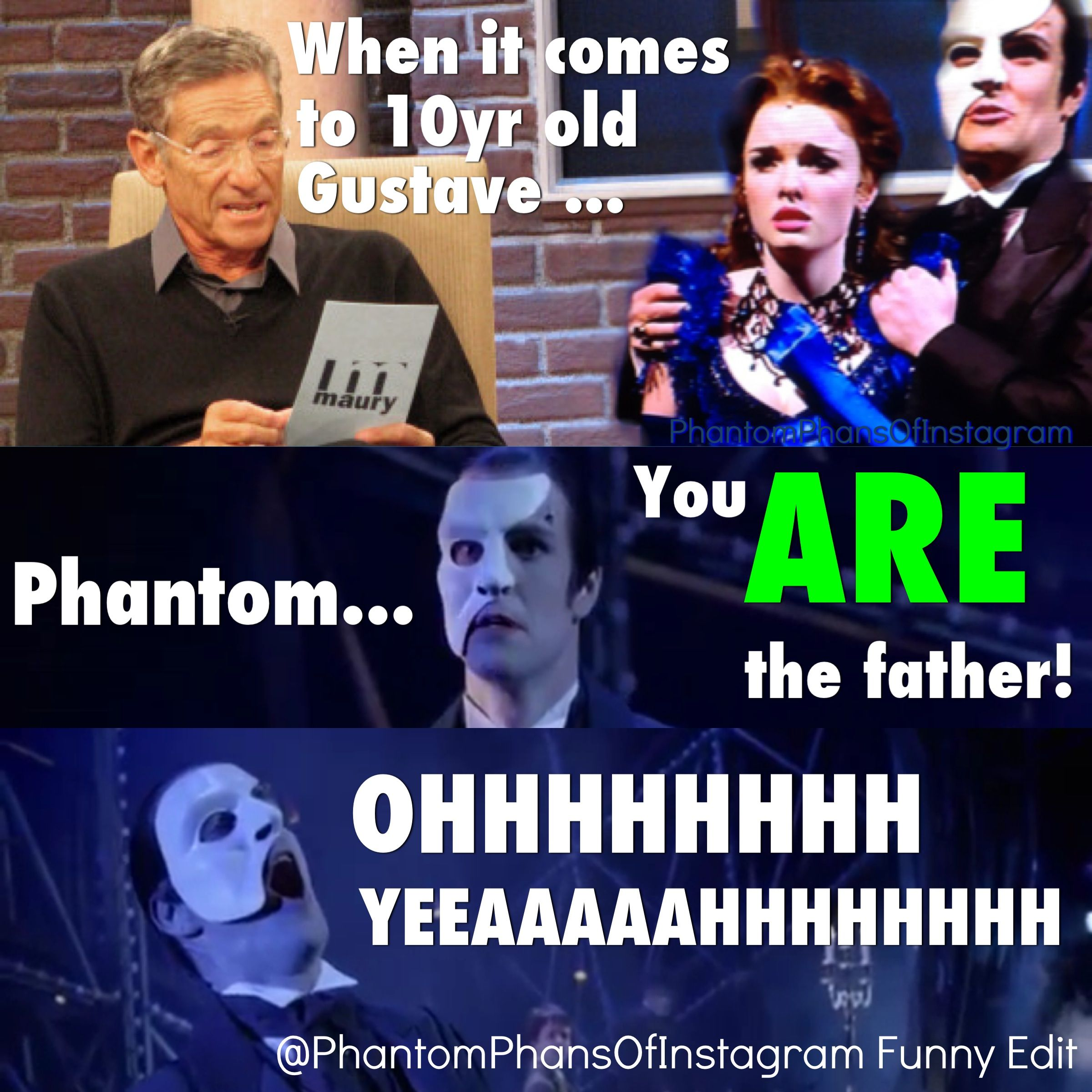 This Meme Is By Phantomphansofinstagram On Instagram A Lot Of Great Funny Phantom Memes Phantom Of The Opera Love Never Dies Musical Musicals Funny