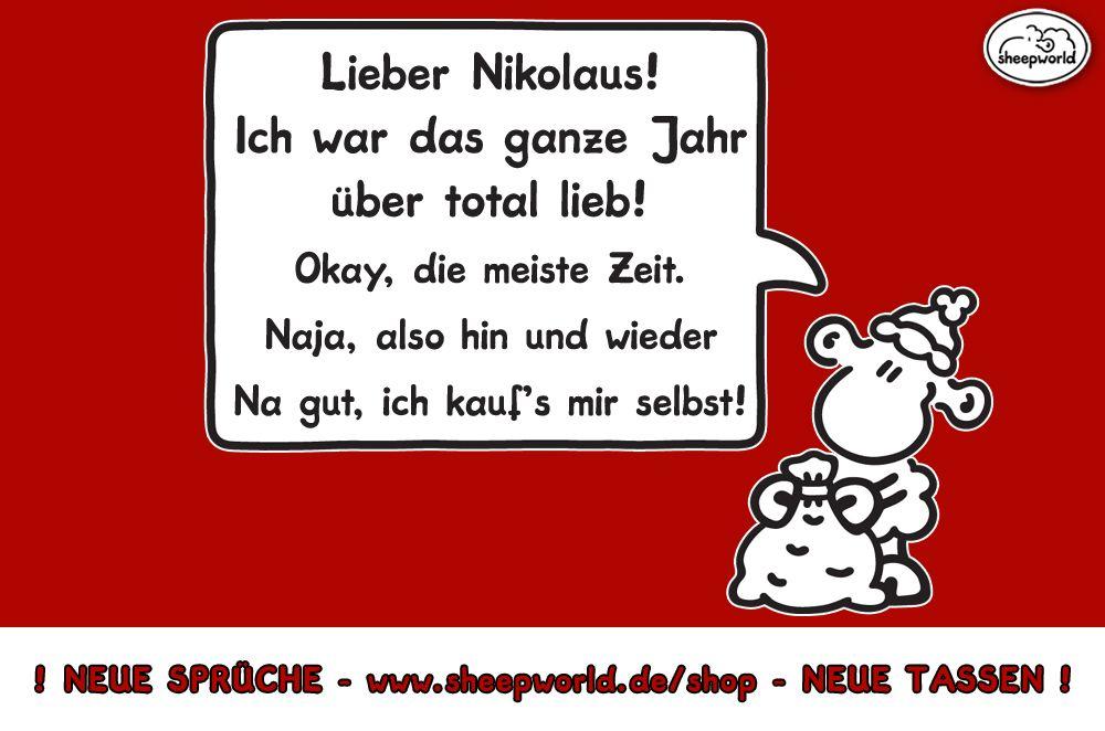 Lieber Guter Nikolaus Lieber Guter Nikolaus Nikolaus Spruch Spruche Leben Lustig
