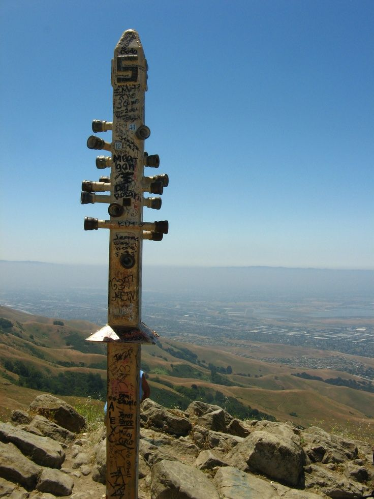 Mission Peak In Fremont Ca 3 Miles All Up Hill I Made It To The