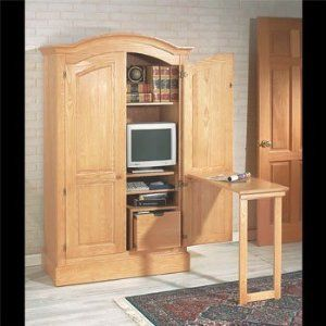 Computer Armoire With Doors Photo Albums Fabulous Homes Interior