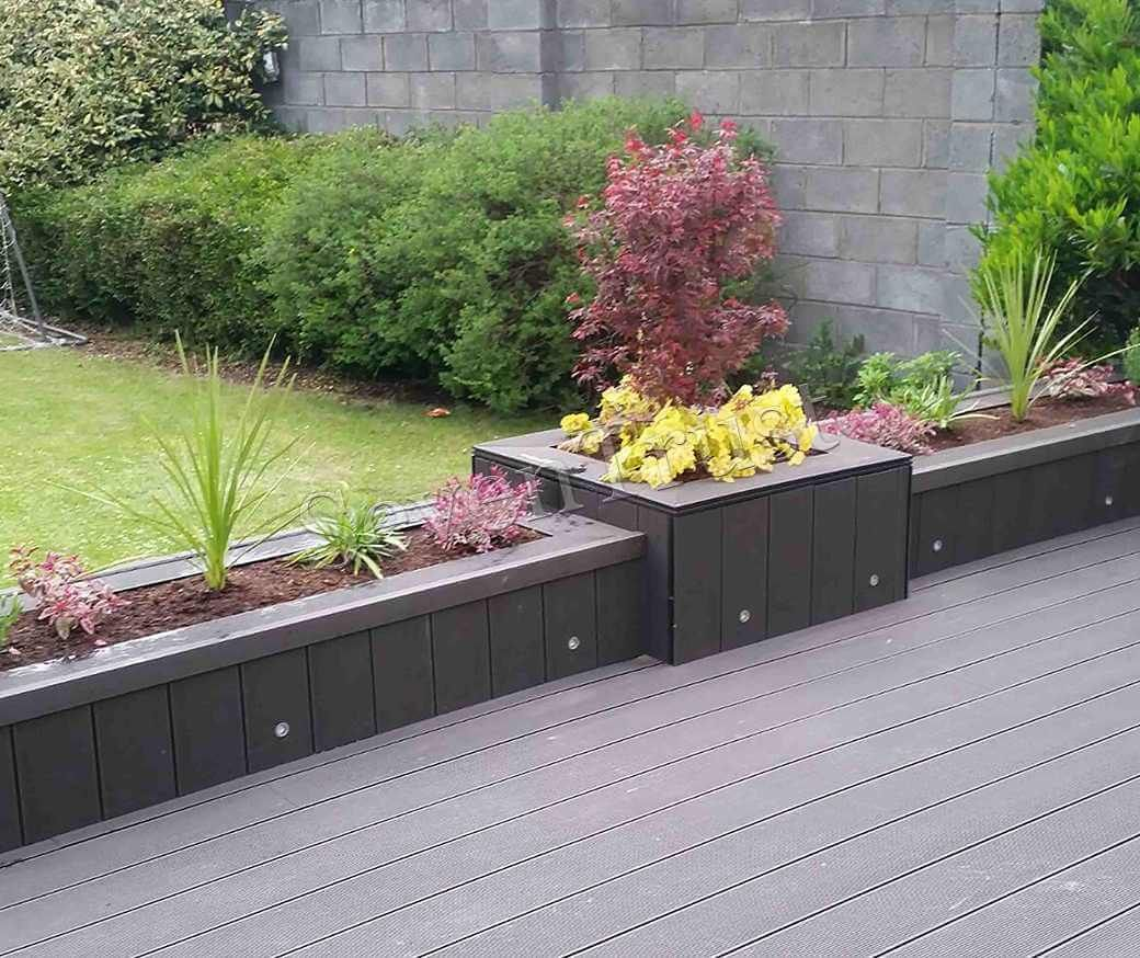 WPC Decking | Solid Wood Plastic Composite Decking ...