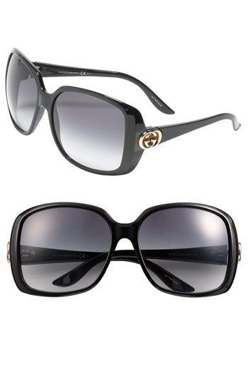 25353f25ca57d6 Gucci Oversized Square Sunglasses