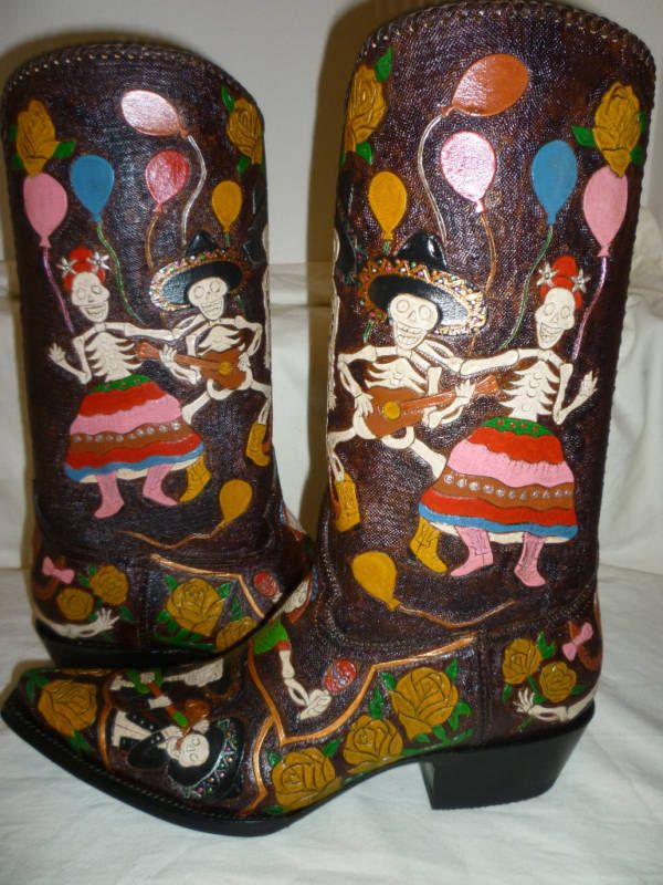 Day Of The Dead Celebration Custom Made Hand Painted