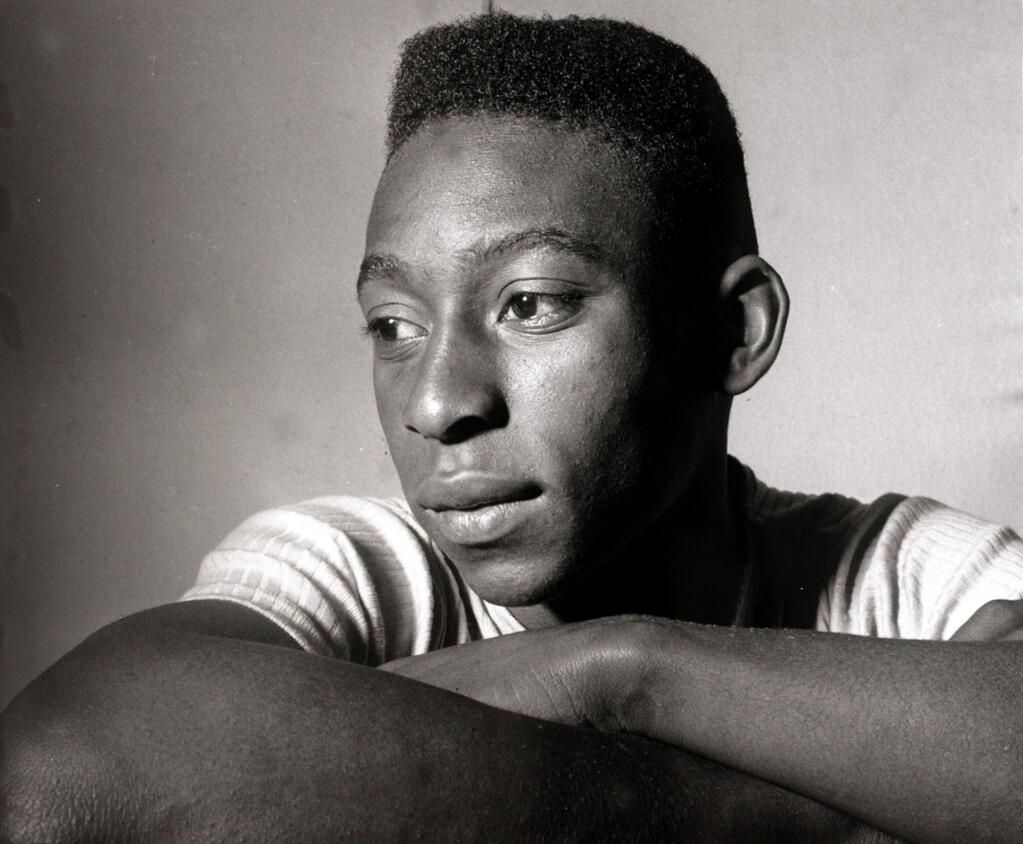 ADayLikeToday 17 years old Pele scored a Hat Trick against France