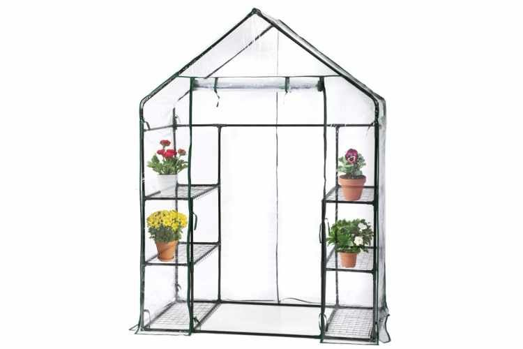 Amazon Is Selling A Portable Greenhouse For Less Than 40 Portable Greenhouse Mini Greenhouse Plant Shelves