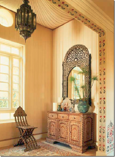 The Entry Hall Is Tented In Muslin With A Large Antique Home Decorators Catalog Best Ideas of Home Decor and Design [homedecoratorscatalog.us]