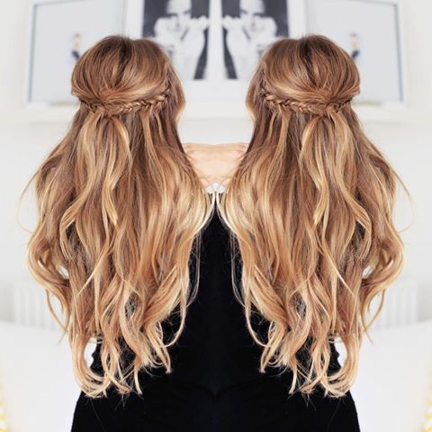 Image Result For Wefts Hair Extensions Halflang Haar Kapsels Lang Haar Kapsels Kapsel Bruiloft