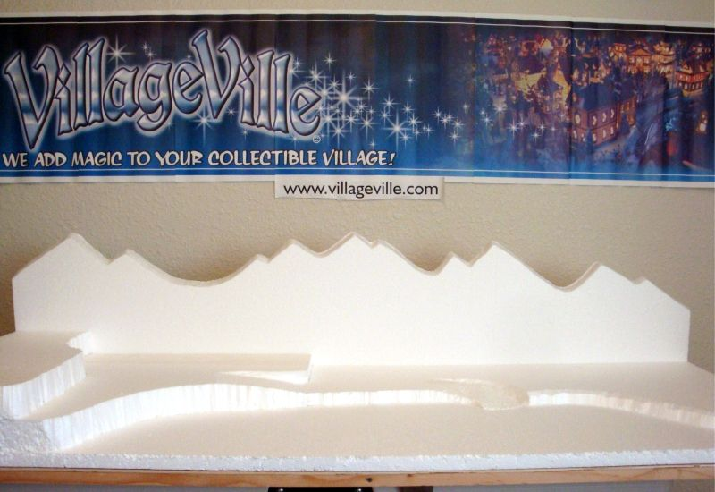Christmas+Village+Display+Platforms   villageville.com » Christmas ...