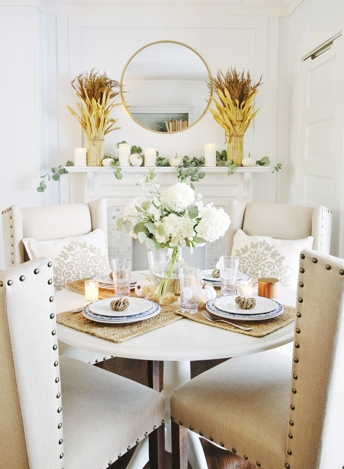 Simple Fall Table and the Prettiest Affordable Serving