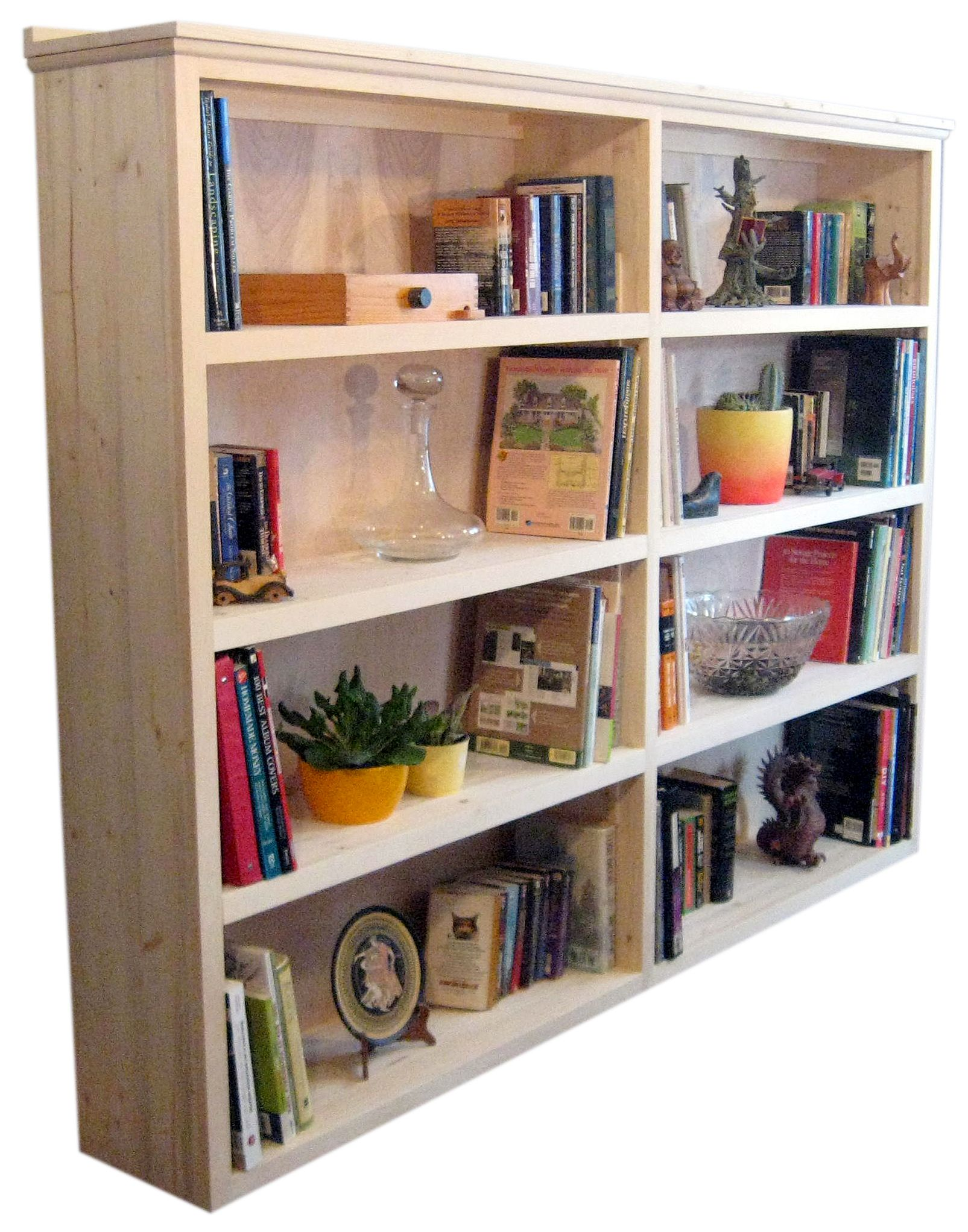 built in bookshelves we crafted these naked unfinished pine rh pinterest co uk extra deep bookshelves extra deep bookshelves