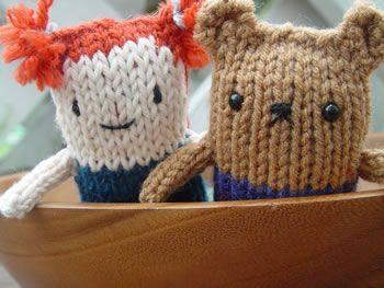 Cute Amigurumi Knitting Patterns : Diy cute amigurumi animals free knitting pattern tutorial