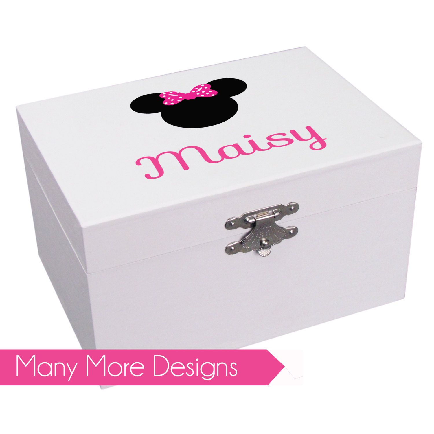 Girl S Ballerina Jewelry Box With Name Design Custom Musical First