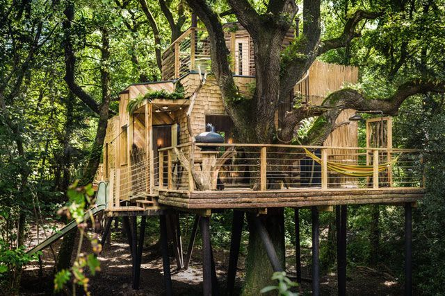 luxurious tree house hotel. Escape Back To Childhood In This Luxury Treehouse Hotel #refinery29 Http://www.refinery29.com/2016/10/127360/woodmans-treehouse-hotel-pictures#slide-2 Can Luxurious Tree House L