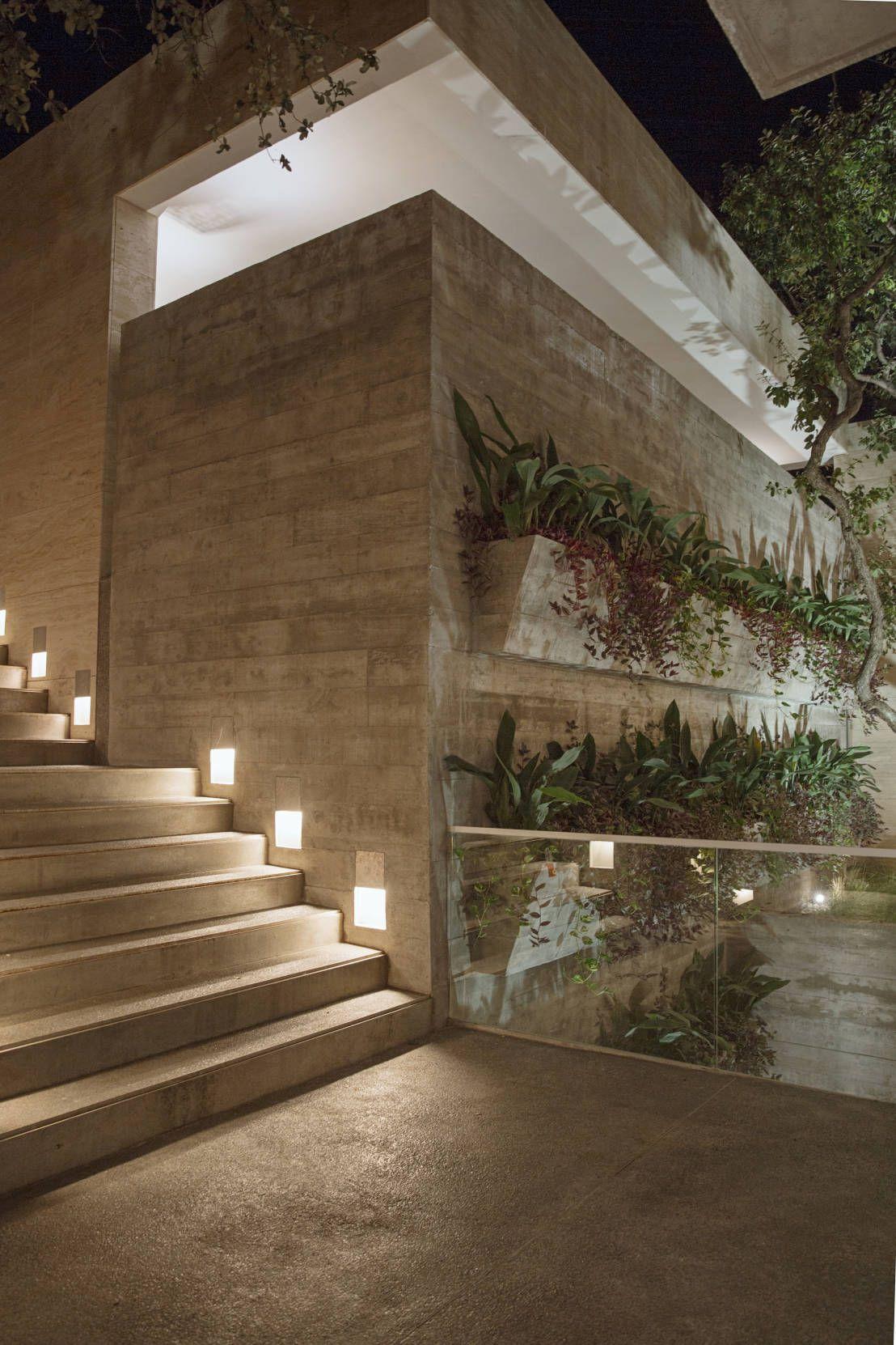 casa san ngel jardines modernos de landa suberville
