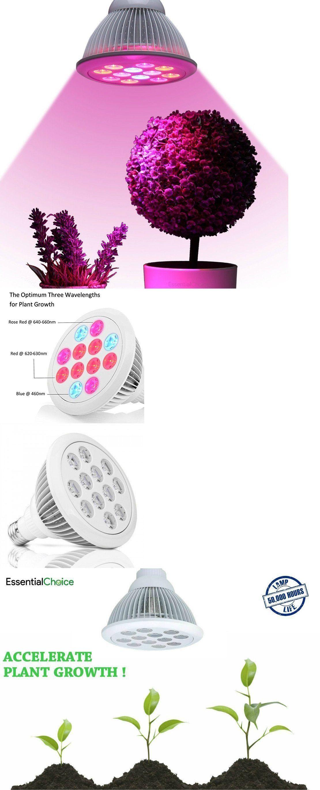 Grow Light Bulbs 178988 Industrial Grade Led Grow Light Full Spectrum Hydroponic Bulb High Luminosity Buy It Now On With Images Led Grow Lights Grow Light Bulbs Bulb