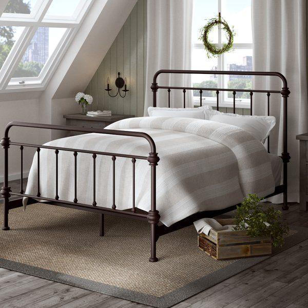 Cavaillon Standard Bed Panel Bed Bed Upholstered Platform Bed