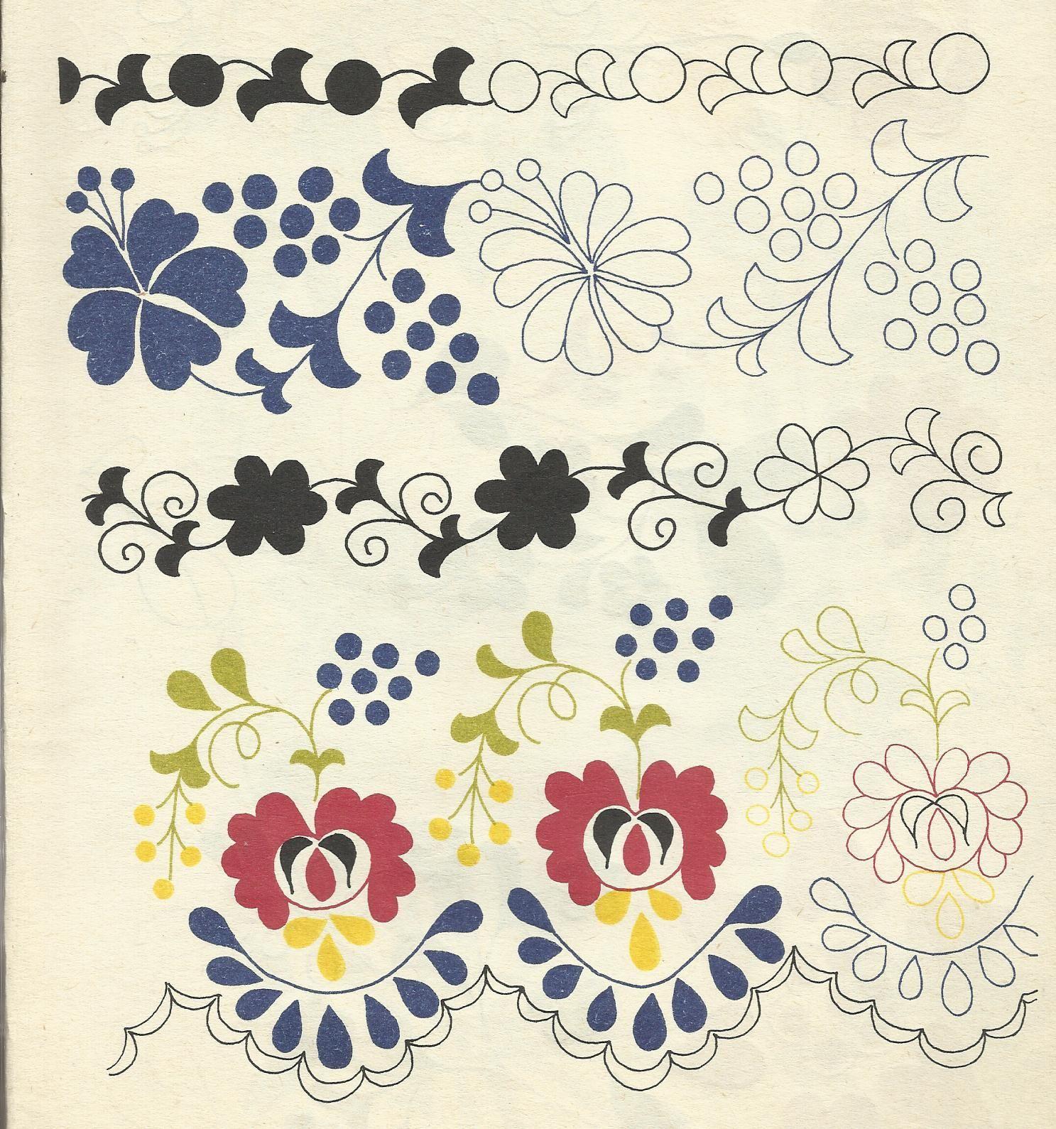 korai_kalocsai_himzesek_12_1540278_6781.jpg (1487×1589) | Embroidery ...