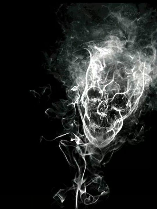 Smoke Png Gif : smoke, Ghost, Smoke, Skull,
