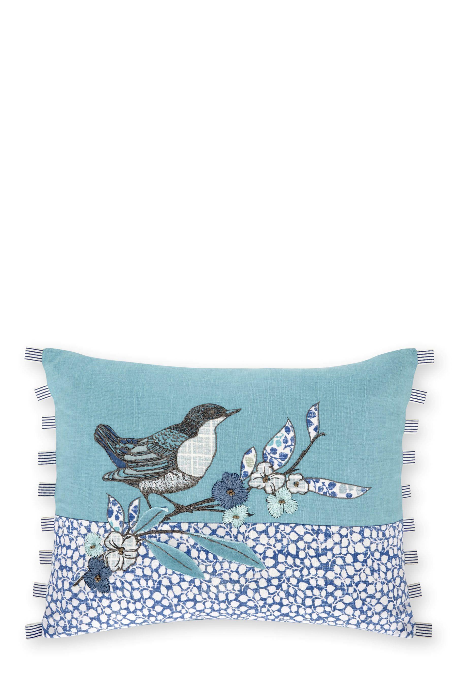 Bird cushion blossom birdcage style pinterest