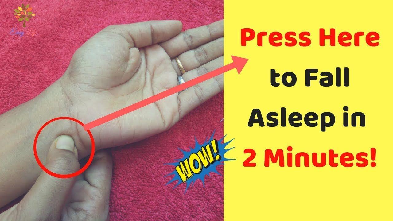 Acupressure Points For Sleepiness Reflexology For Sleep Amazing