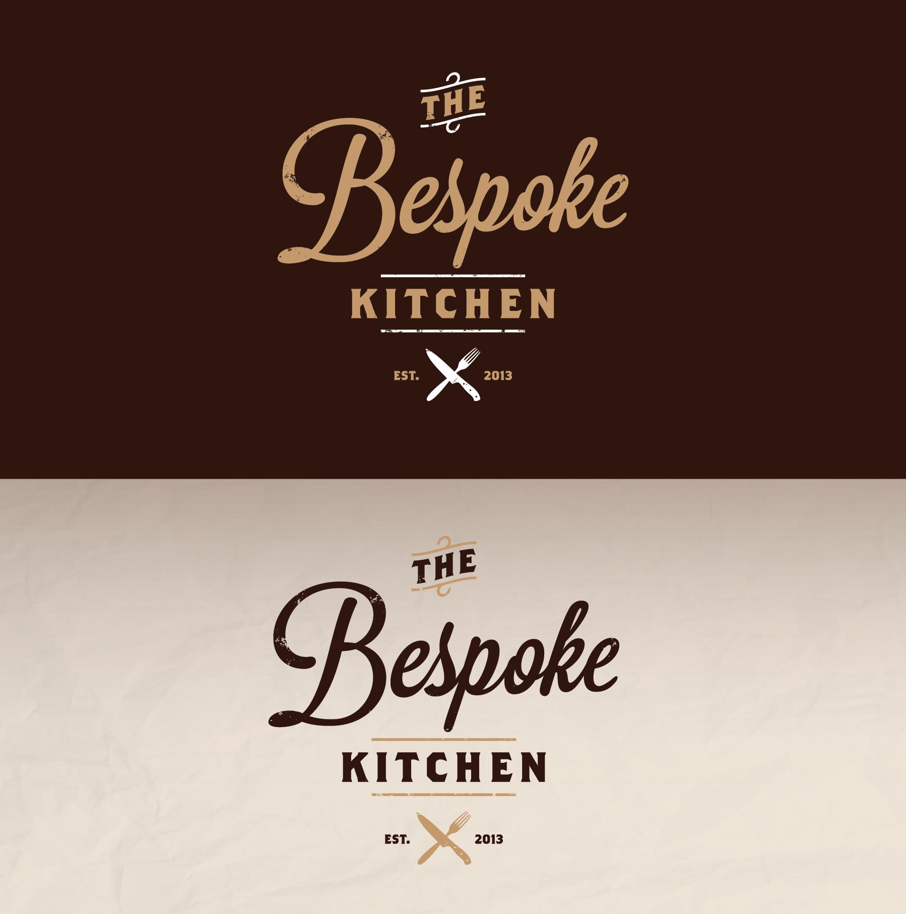 Kitchen Designer Logo Vintage Logo Design For The Bespoke Kitchenmuszaj  Vintage