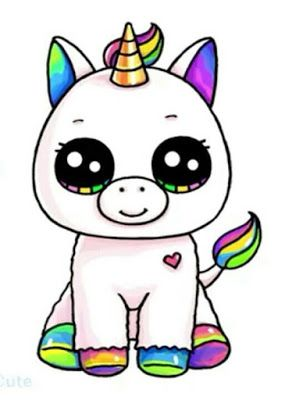 Dibujos De Unicornios Cute Kawaii Drawings Kawaii Girl Drawings Cute Animal Drawings