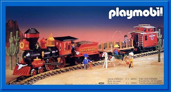 The famous playmobil train set toys pinterest - Train playmobil ...
