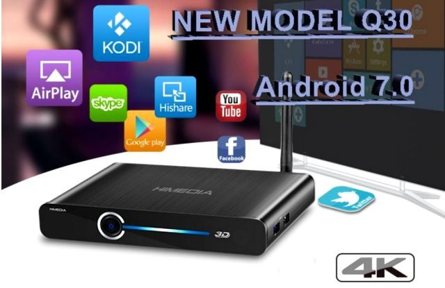 HiMedia Q30 TV Box powered by HiSilicon Hi3798M V200 coming
