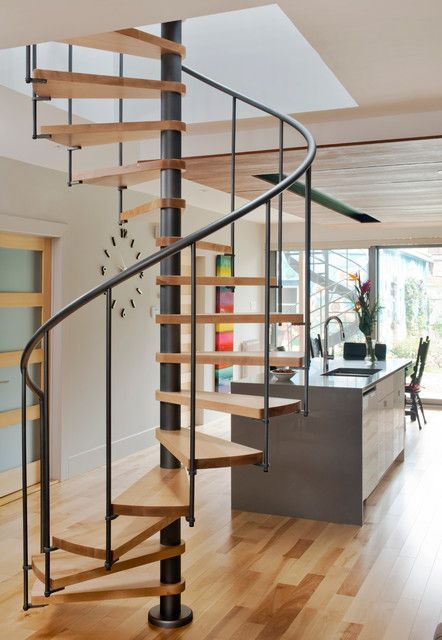 Best Image Result For Spiral Staircase In Farmhouse Staircase 400 x 300