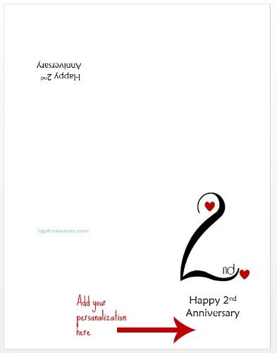 Free Personalized Anniversary Cards Printable Anniversary Cards