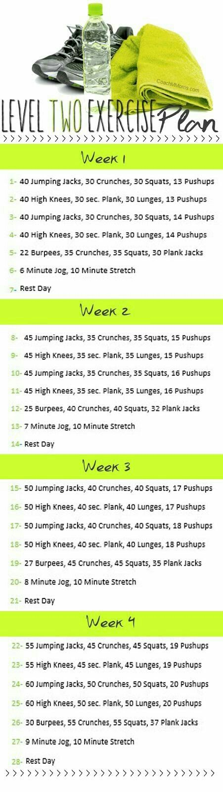 Pin by Crystal Ledwig on Workouts Pinterest Workout, Exercises - weekly exercise plans