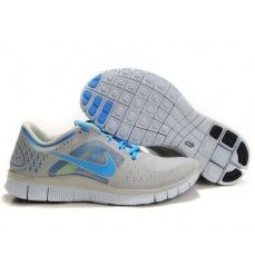 the best attitude 050dc d35df Homme Nike Free Run 3 Soldes Gris Bleu-20