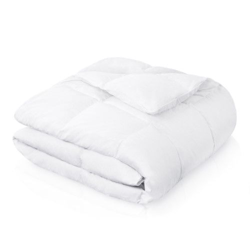 Puradown Hotel Quality Duck Feather and Down Mattress Topper All Sizes