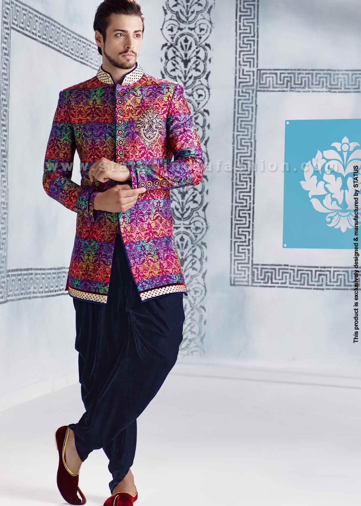 Velvet sherwani indian wedding wear groom sherwani best sherwani