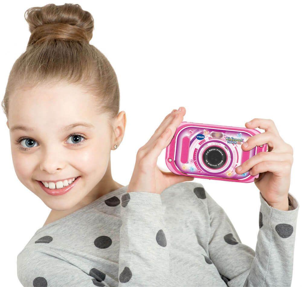 Vtech 80 163554 Kidizoom Touch 5 0 Pink Digitalkamera Ideas Of Digitalkamera Digitalkamera In 2020 Vtech Digital Camera Baby Face