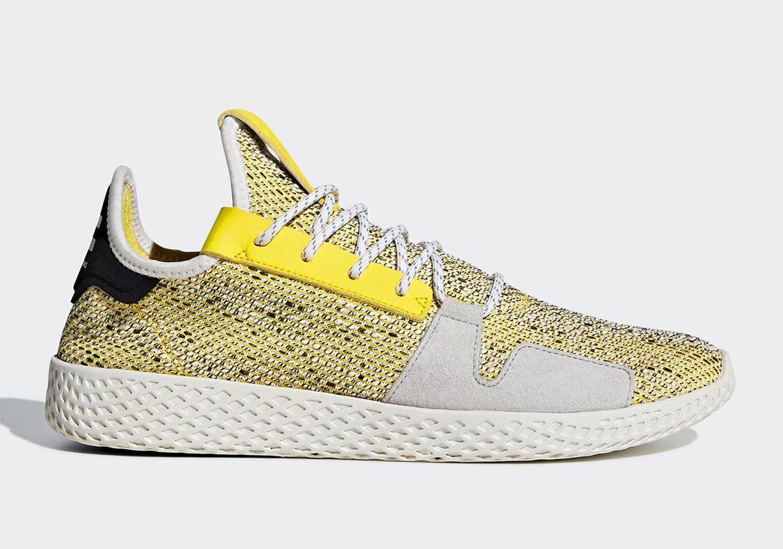 First Look At The Pharrell X Adidas Tennis Hu V2 Adidas Tennis Sneakers Adidas