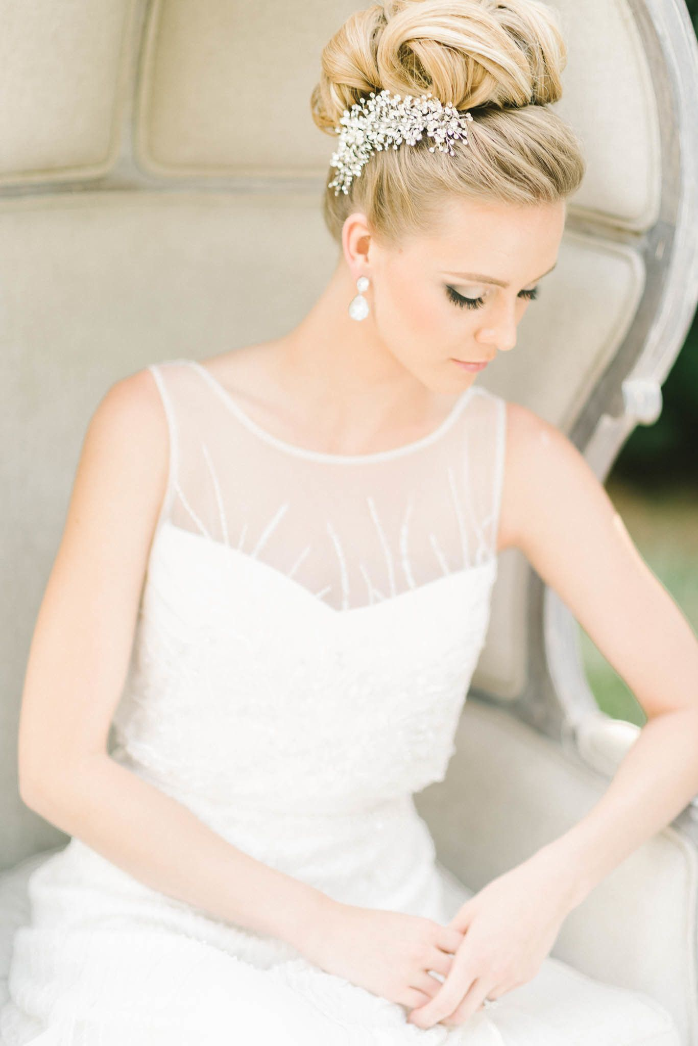 Must-See Moments from our Little Black Book Members | Wedding hair ...