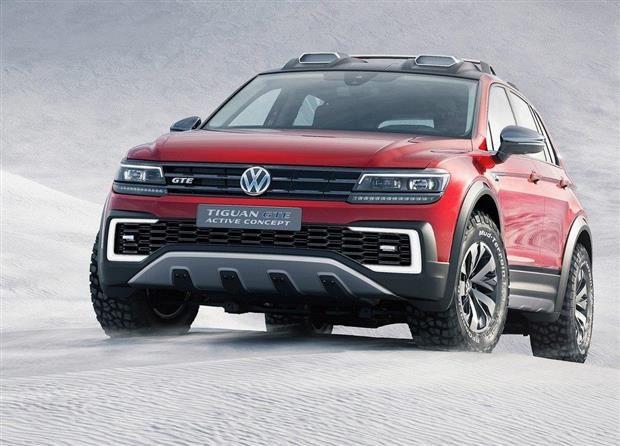 4 Roues Motrices >> Volkswagen Tiguan Gte L Hybride 4 Roues Motrices Pour Les