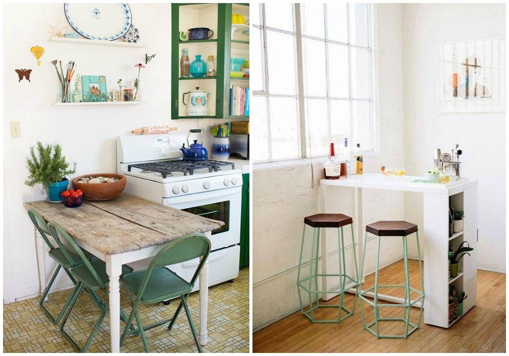 02 comer en la cocina mesa peque ba o pinterest - Mesa rinconera cocina ...