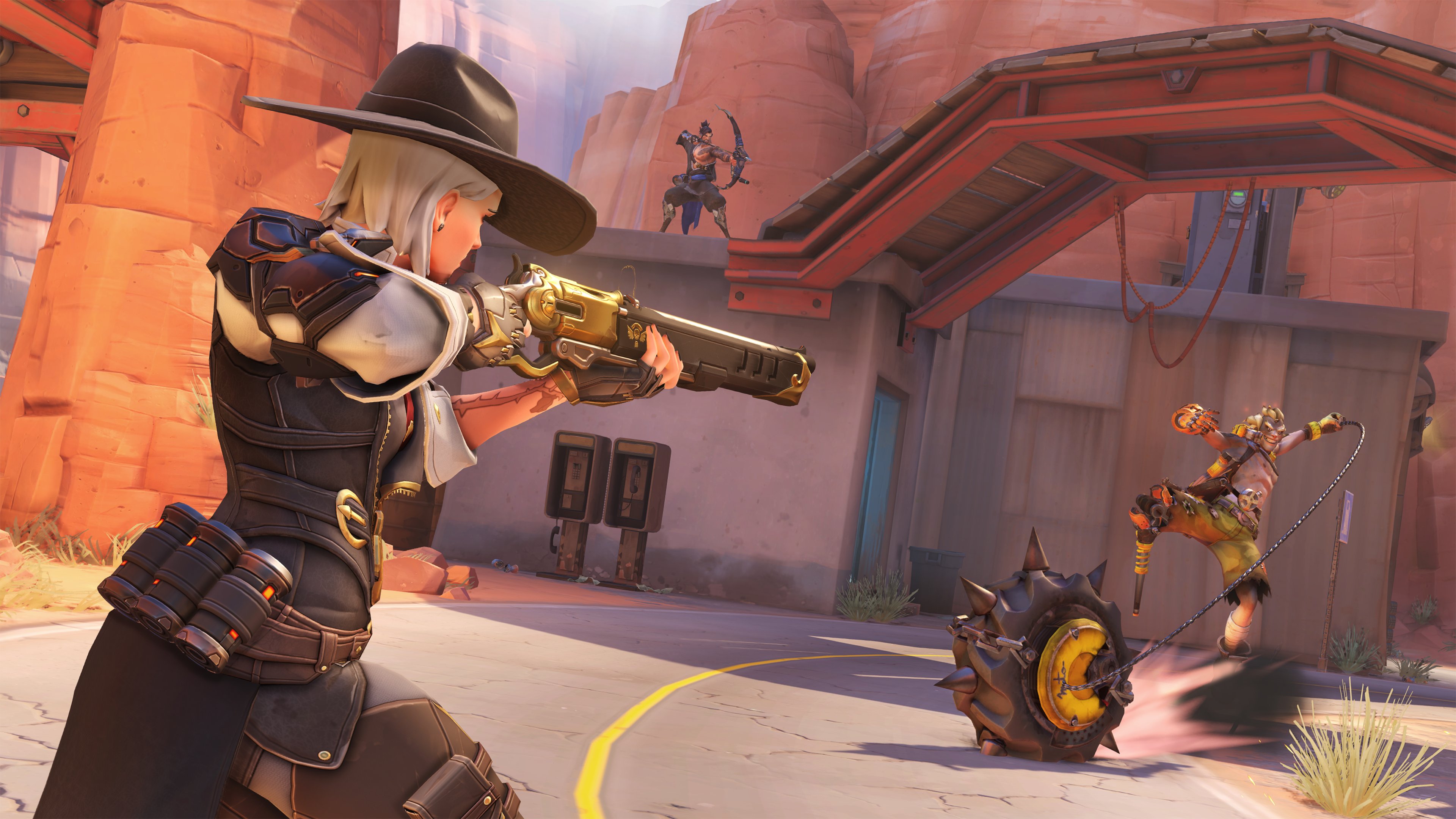 Overwatch creator admits Ashe's aim is broken, says a fix is coming | Overwatch, Heroes of the ...